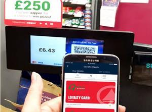 Gilletts Spar loyalty till Zapper