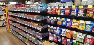 Confectionery Display Nisa Southend Victoria