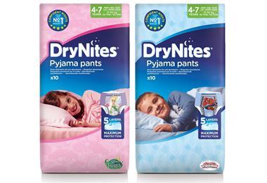 Drynites new packs