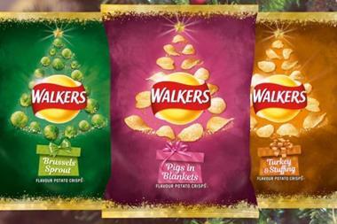 Walkers new festive range