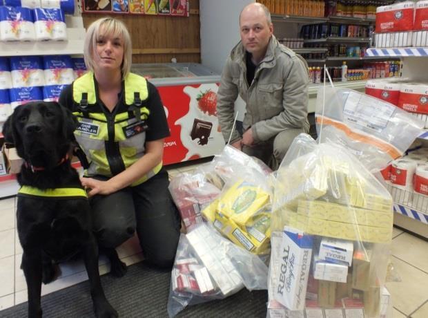 illicit tobacco police